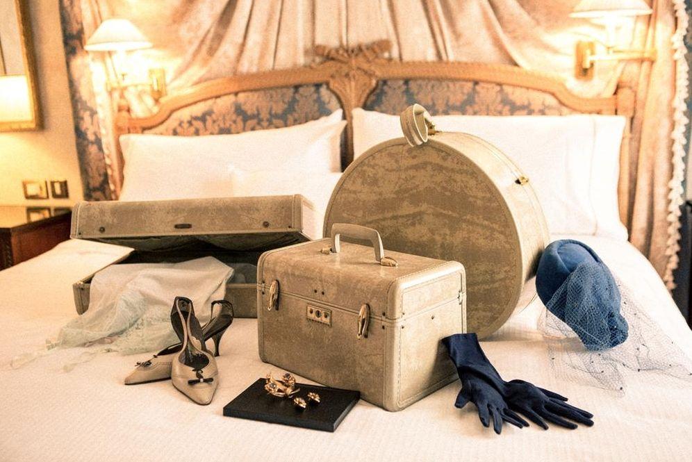 Foto: El hotel Palace de Madrid muestra los objetos de sus huéspedes más ilustres en la exposición '100 años viajando juntos', de Samsonite