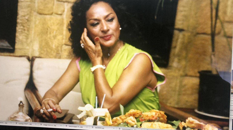 Lola Flores, en la década de los 80.(Getty)
