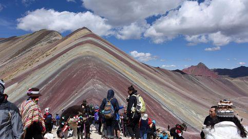 Problemas con la famosa montaña de los siete colores