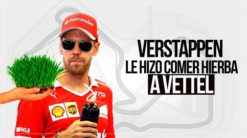 El sapo que Max Verstappen le hizo tragarse  a Sebastian Vettel