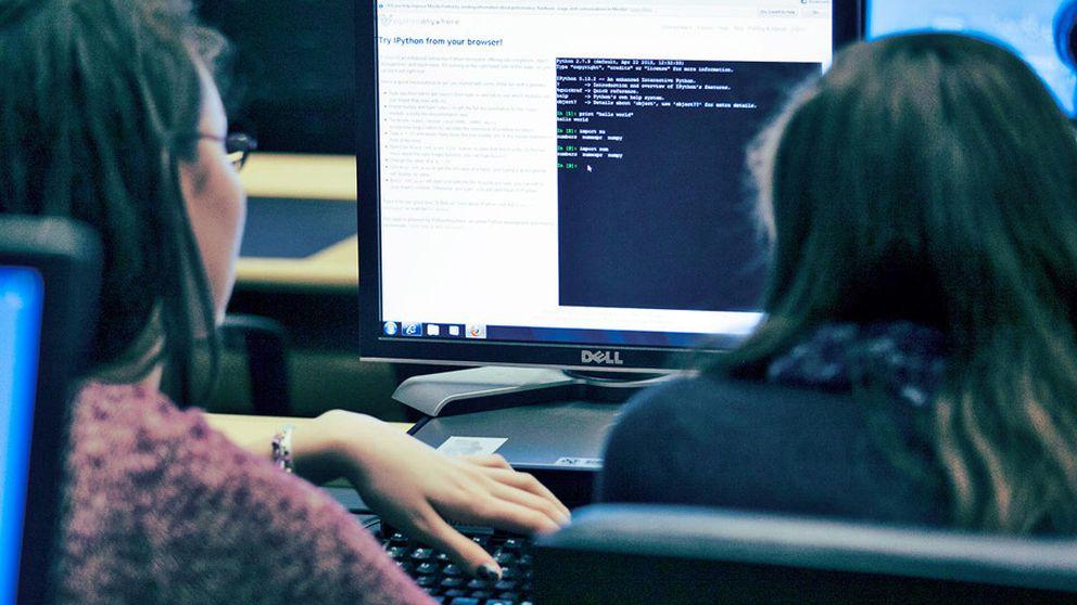 Las niñas no quieren ser programadoras