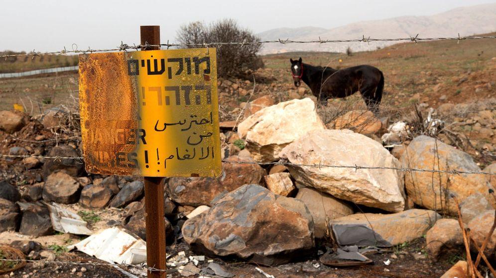 Foto: Altos del Golán, en la frontera entre Siria e Israel | EFE