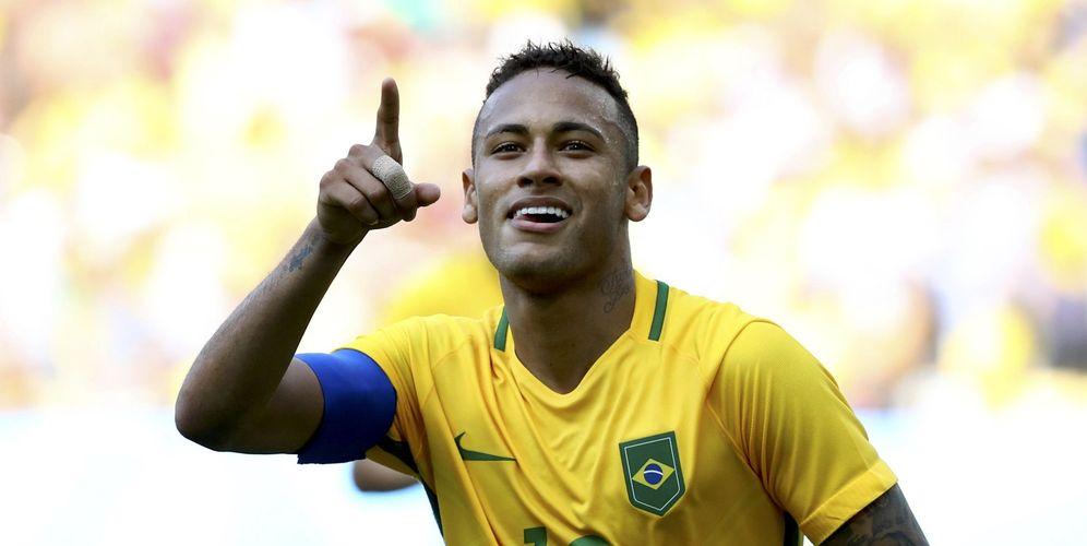 Foto: Neymar lidera la selección de fútbol de su país en estos Juegos de Río de Janeiro (Reuters)
