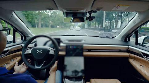 Prueba del nuevo piloto automático del Tesla chino