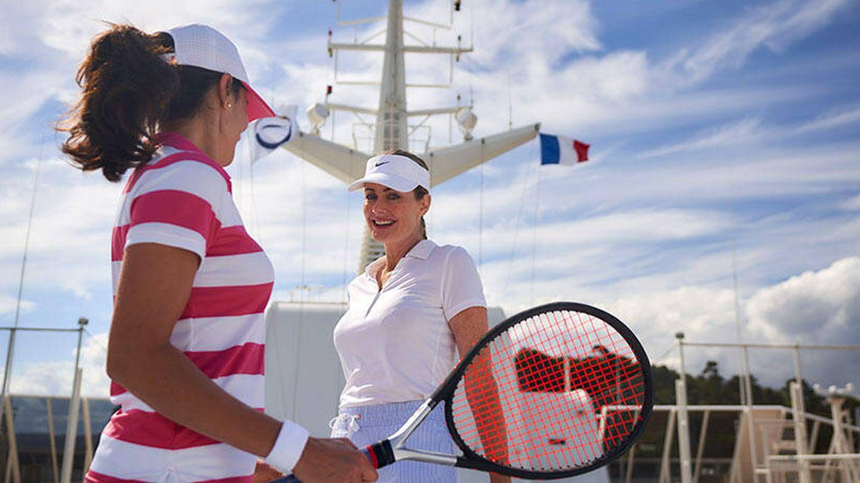 ¿Un partido de tenis? (The World)