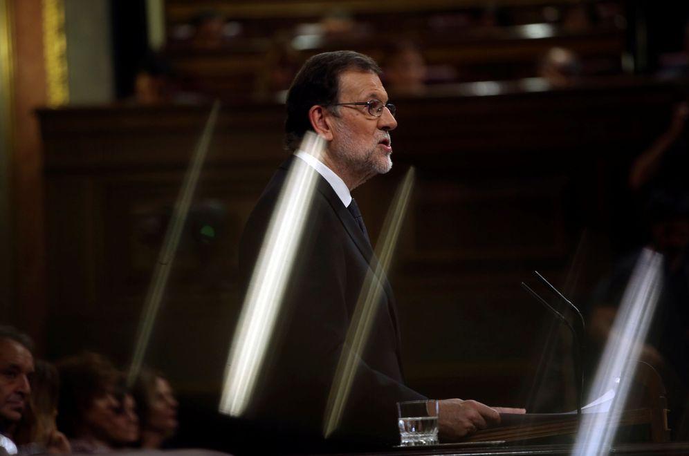 Foto: El presidente del Gobierno, Mariano Rajoy, durante la sesión de su investidura el pasado sábado. (Reuters)
