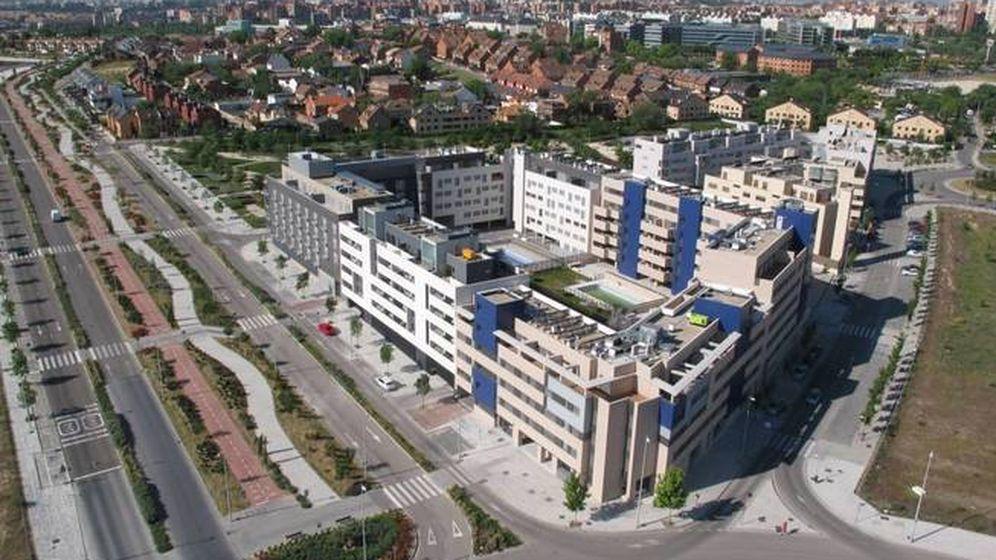 Foto: Urbanizaciones en Valdebebas.