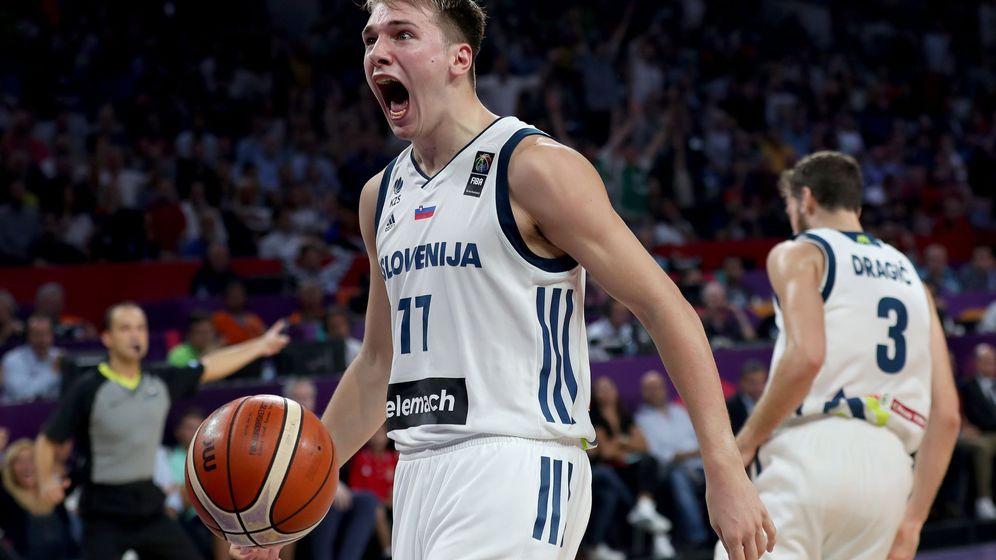 Foto: La selección eslovena ganó el EuroBasket el pasado mes de septiembre. (Reuters)