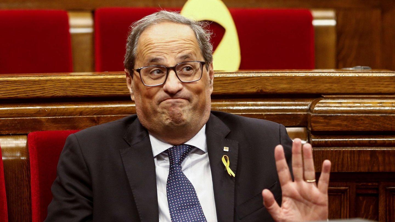 El presidente de la Generalitat de Cataluña, Quim Torra. (EFE)