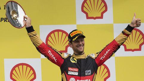 Grosjean, de 'chiflado de la primera curva' a mejor piloto, esposo y padre