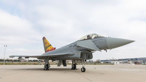 Airbus pide 2.000M para sustituir los caza Halcón de Canarias por Eurofighter