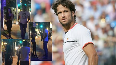 Feliciano López disfruta de la noche de Miami tras caer eliminado en el Open