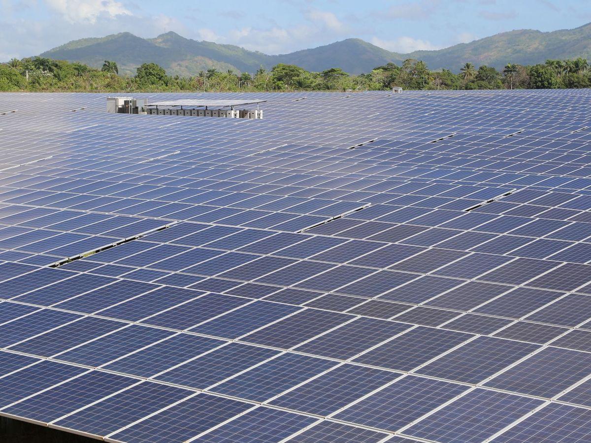 Foto: Foto de archivo de un proyecto fotovoltaico. (EFE)