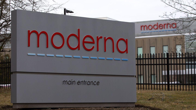 Fachada de unas instalaciones de Moderna. (Reuters)