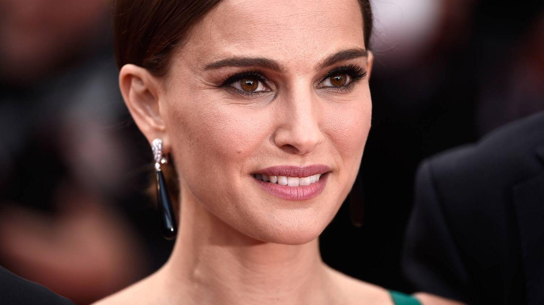 Detalle de las cejas siempre perfectas de Natalie Portman. (Getty)
