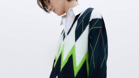 Este jersey de Uterqüe va a poner el toque de color a nuestros looks de invierno