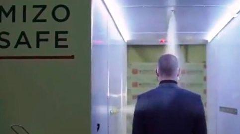 El secreto de Putin: un túnel de desinfección le protege del coronavirus