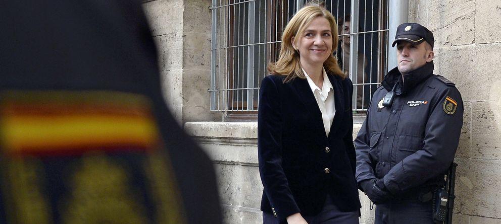 Foto: La Infanta Cristina declara el pasado 8 de febrero (Gtres)