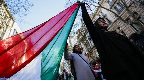 Protesta por la visita de Netanyahu a Buenos Aires