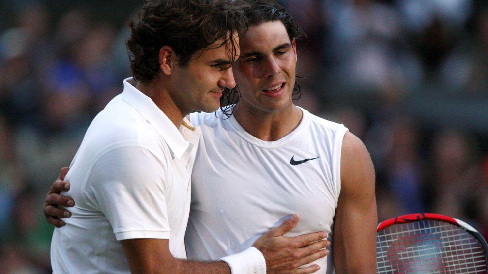 Las lágrimas de Nadal ante Federer cuando creyó que perdería Wimbledon 2008
