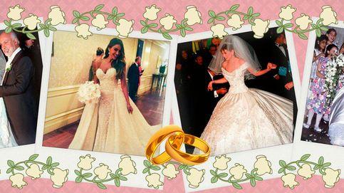 Los cuatro vestidos de novia aún más ostentosos que el de Sofía Vergara