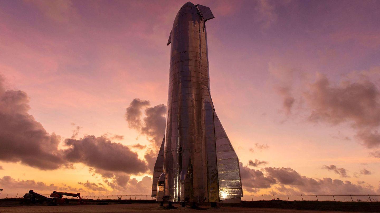 Starship en Boca Chica (SpaceX)