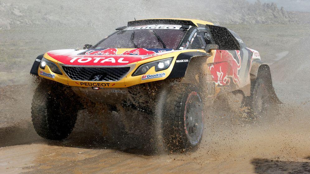 Foto: Stephane Peterhansel en la edición de este año del Dakar. (Reuters)