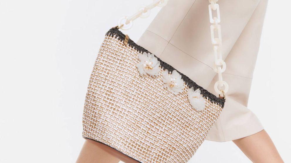 Uterqüe y el bolso mitad capazo, mitad bandolera ideal para verano