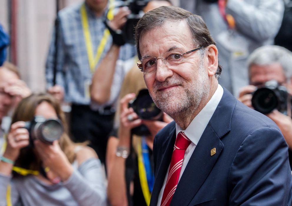 Foto: Mariano Rajoy a su llegada a la reunión del Consejo Europeo. (AP)
