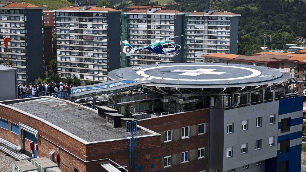 Foto: El Hospital de Cruces, en Barakaldo, es el más importante del País Vasco (EFE)