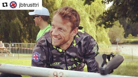 Jenson Button, expulsado del Mundial de Ironman... por exceso de velocidad