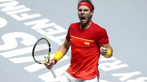Rafa Nadal tiene prisa: levanta la eliminatoria y se la jugará en el dobles