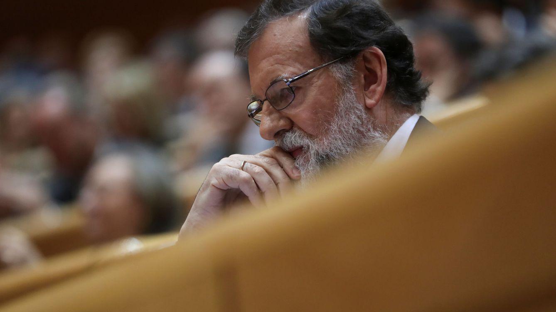 """Rajoy pide tranquilidad: """"El Estado reaccionará y restaurará la ley en Cataluña"""