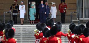 Post de De 'My Fair Lady' a azafata de British Airways: Melania arrasa a su llegada a UK