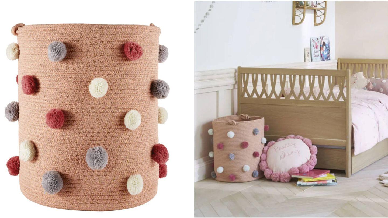 Cestos decorativos de Maisons du Monde para un hogar ordenado. (Cortesía)