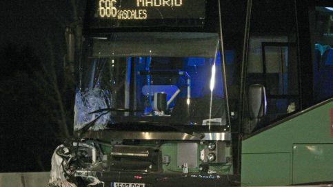 Un coche en sentido contrario provoca un accidente en la A-6 con ocho heridos