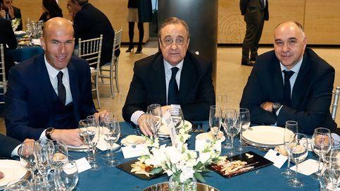 El Real Madrid celebra su tradicional comida de Navidad