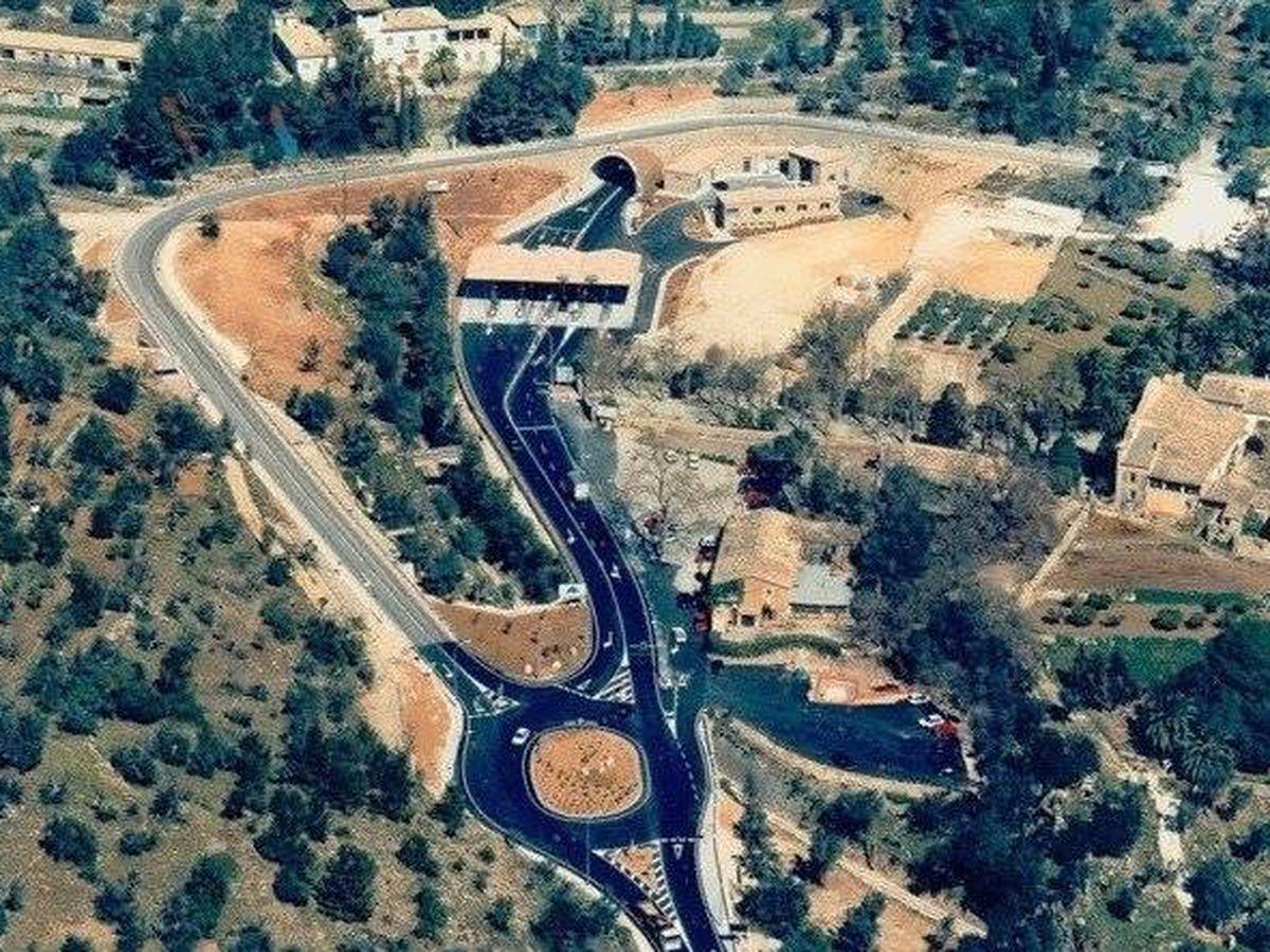 Foto: Túnel de Sóller.