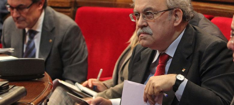 Foto: El conseller de Economía de la Generalitat de Cataluña,  Andreu Mas-Colell