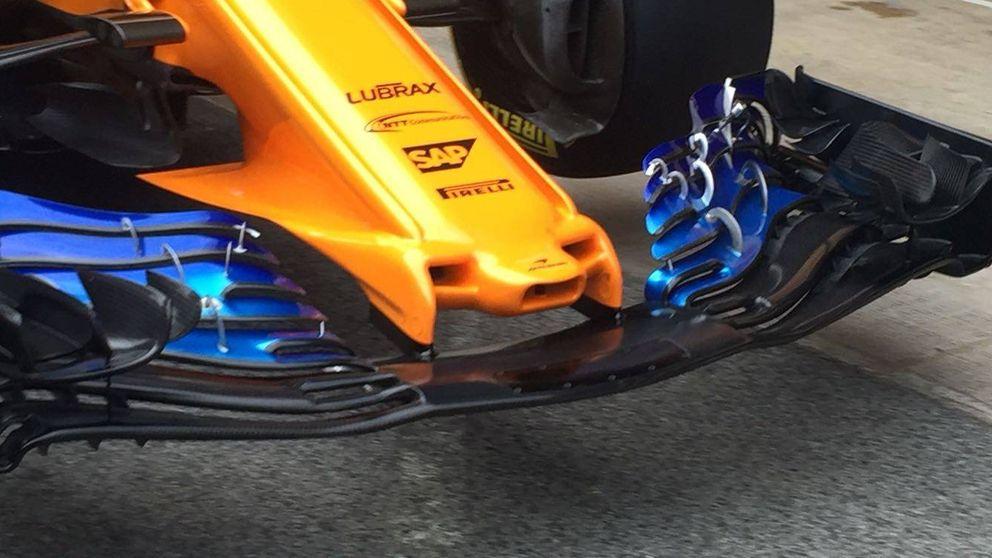 McLaren rompe todos los esquemas con el nuevo morro de su MCL33