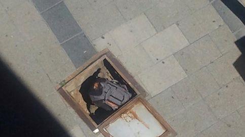La mochila sospechosa en una alcantarilla de la calle Génova era una falsa alarma