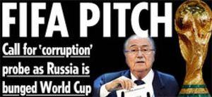 """La prensa europea, indignada con FIFA; en Rusia se sorprenden del """"regalo inmerecido"""""""