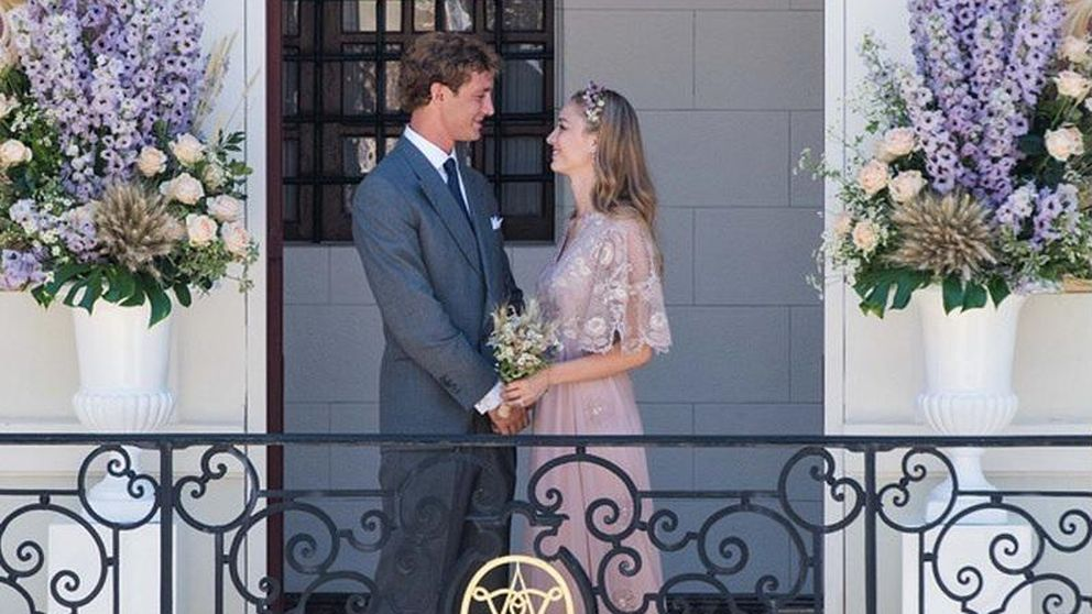 Beatrice Borromeo, una novia vestida de Valentino en su boda con Pierre Casiraghi