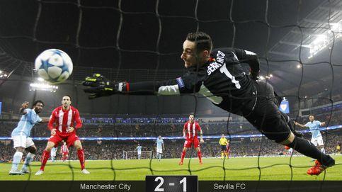 El Sevilla no se lo creyó ante el Manchester City