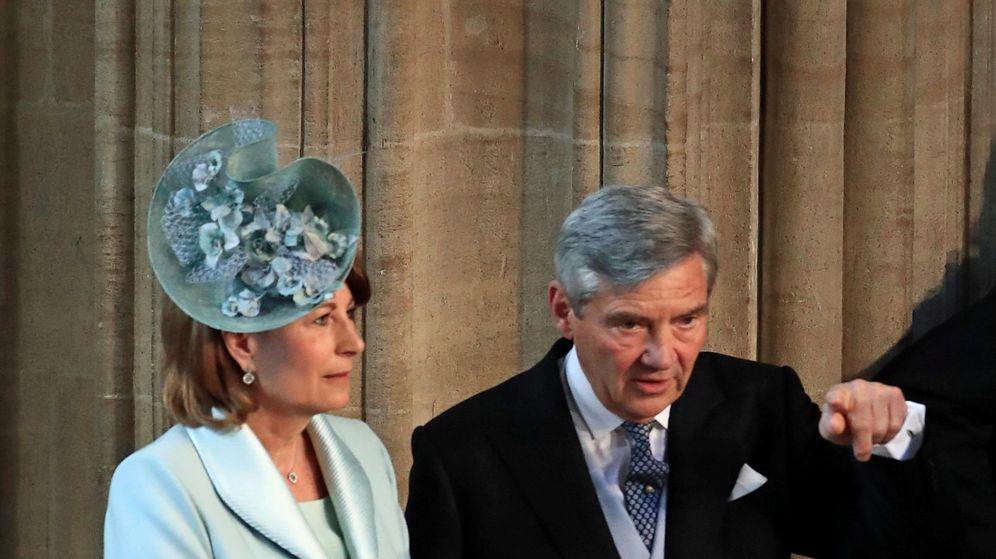 Foto: Los padres de la duquesa de Cambridge. (Reuters)