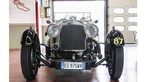 La valiosa colección de coches clásicos de la familia Ricci