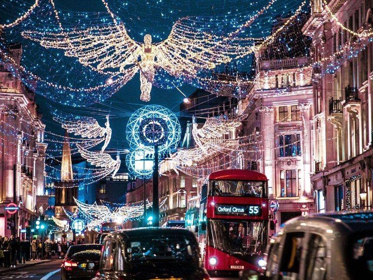 Foto: Luces de navidad de Londres. (Jamie Davies para Unsplash)