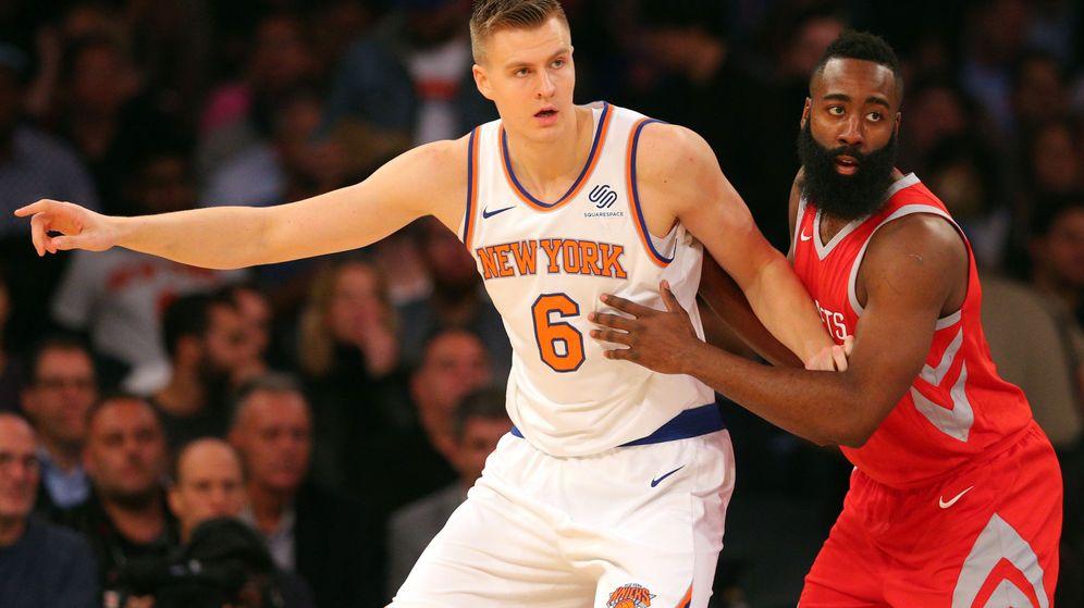 Foto: Porzingis tiene un físico único en la NBA. (Reuters)