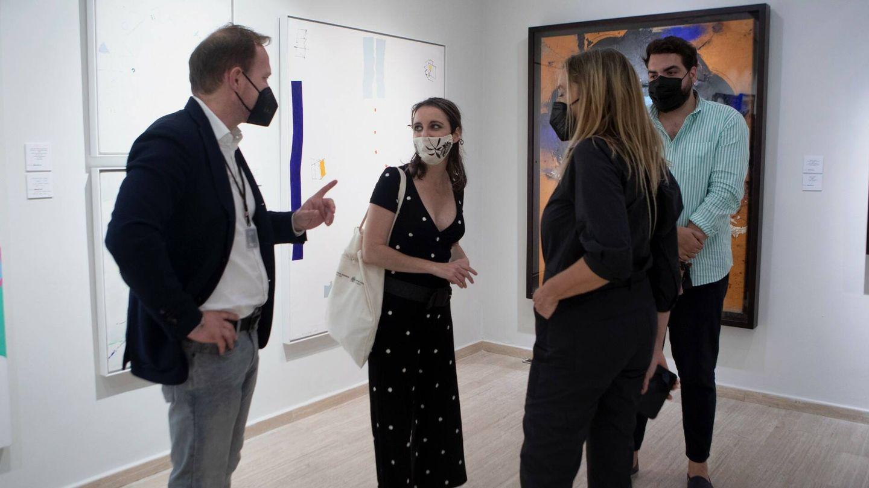 Inauguración del Salón de Arte Moderno SAM el pasado 5 de julio en el espacio Velázquez 12 (SAM)