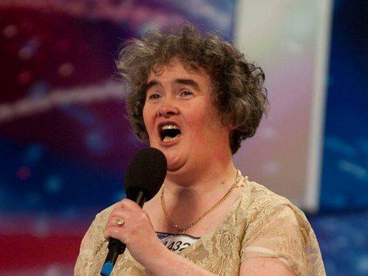 Foto: Susan Boyle, en su primera actuación en 'Britain´s Got Talent'.